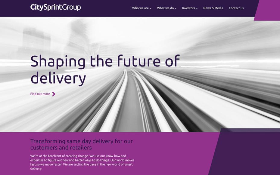 CitySprintGroup Bespoke Website Development